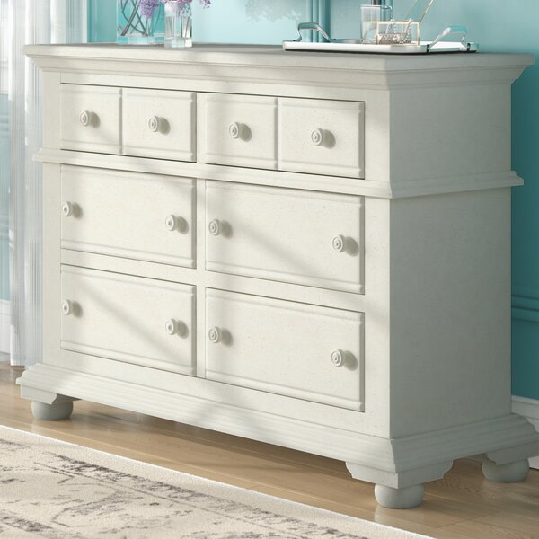 Morpeth 6 Drawer Double Dresser by Three Posts