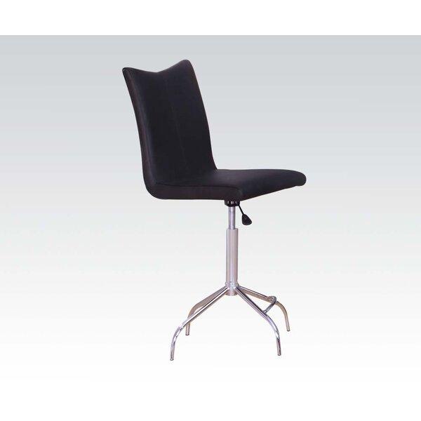 Vindex Adjustable Height Swivel Bar Stool (Set of 2) by ACME Furniture