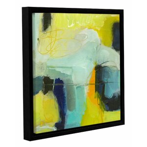 'Navy Like Others' by Sia Aryai Framed Painting Print by Wrought Studio