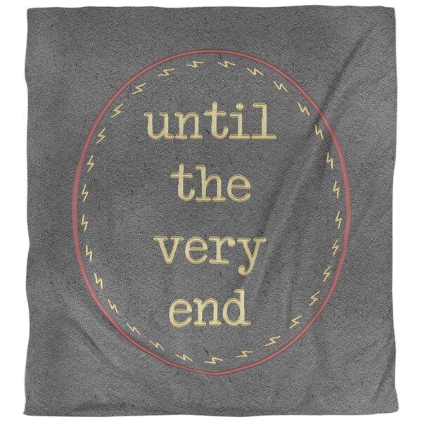 Quotes Magic Foil Art Single Reversible Duvet Cover