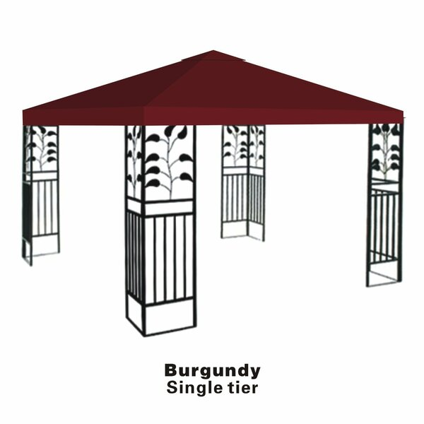 Replacement Sunshade Single Tier Canopy Top Patio Pavilion Cover by Sunrise Outdoor LTD