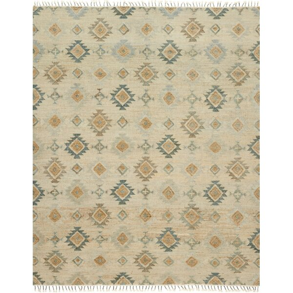 Bentonville Hand-Woven Beige Area Rug by Foundry Select