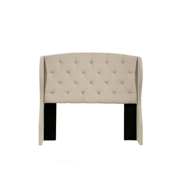 Sornson Upholstered Wingback Headboard by Darby Home Co Darby Home Co