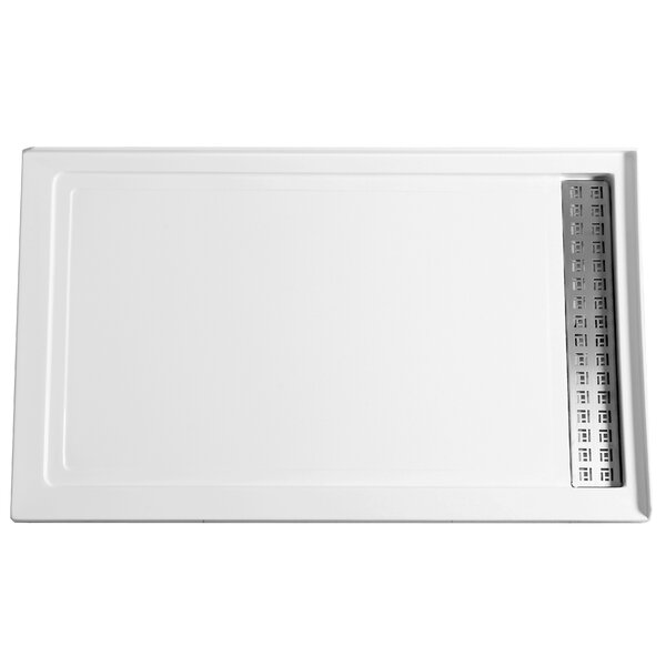 Field Series 60 x 36 Double Threshold Shower Base by ANZZI