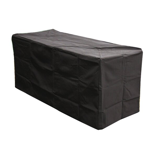 Wave Fire Pit Rectangular Vinyl Cover by The Outdoor GreatRoom Company
