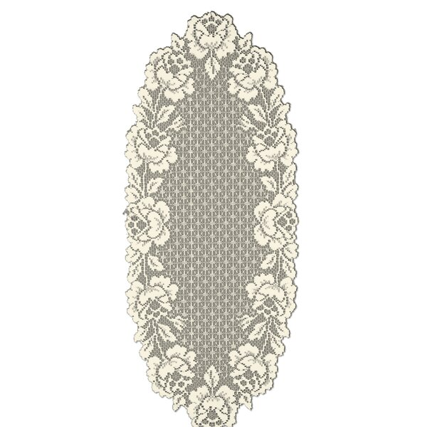 Cottage Rose Runner by Heritage Lace