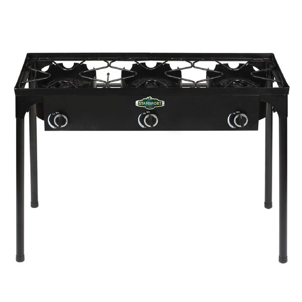 3-Burner Propane Outdoor Stove by Stansport