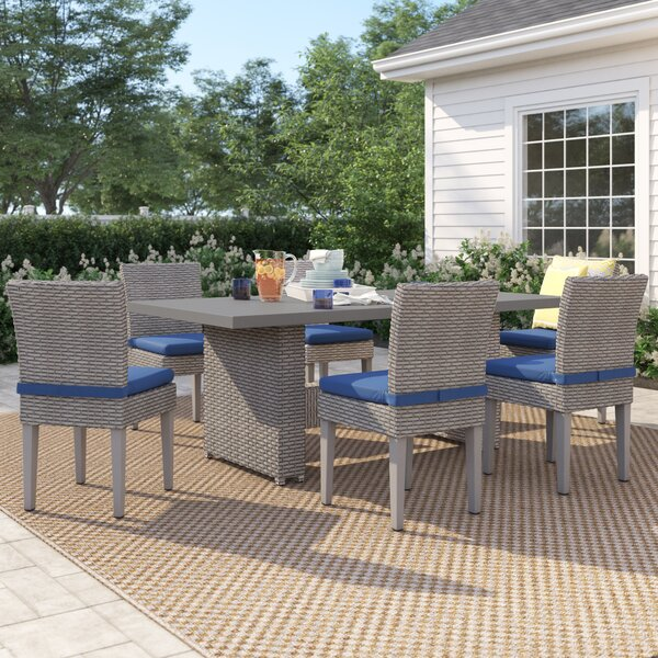 Kenwick 7 Piece Dining Set With Cushions By Sol 72 Outdoor
