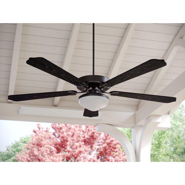 52 Beaton 5 Blade Outdoor Ceiling Fan by Fleur De Lis Living