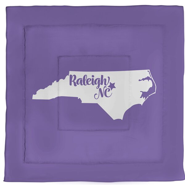 North Carolina Raleigh Single Reversible Comforter
