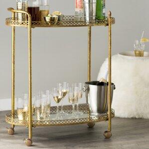 Mirrored Bar Cart by Mercer41