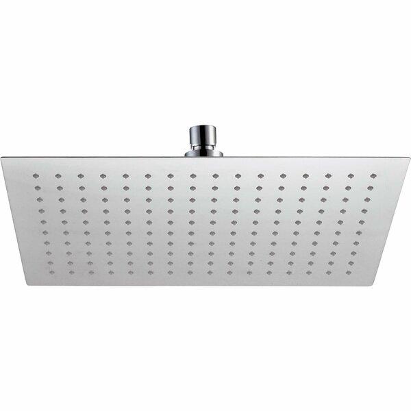 Square Swivel Rain Shower Head by AGM Home Store