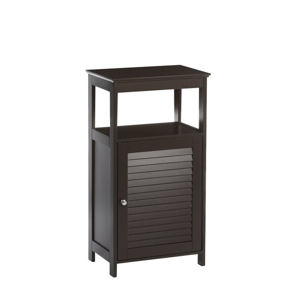Ellsworth 17.7 W x 32.68 H x 11.8 D Free-Standing Bathroom Cabinet