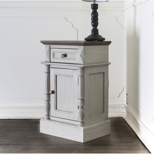 Madison End Table with Storage by August Grove August Grove