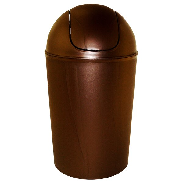 14 Gallon Swing-Top Plastic Trash Can by DialManufacturing
