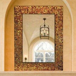 DecorShore Decorative Glass Mosaic Tile Wall Mirror