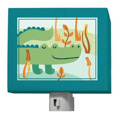 A Through Z Animals - Alligator Night Light by Oopsy Daisy
