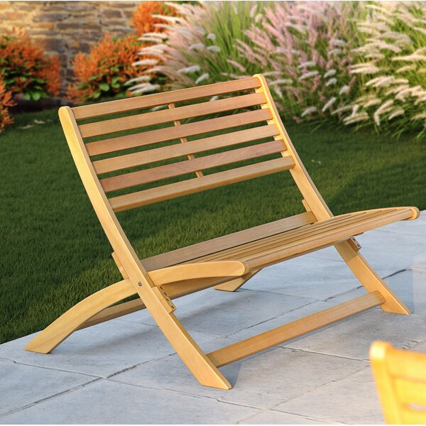 Verso Wooden Garden Bench