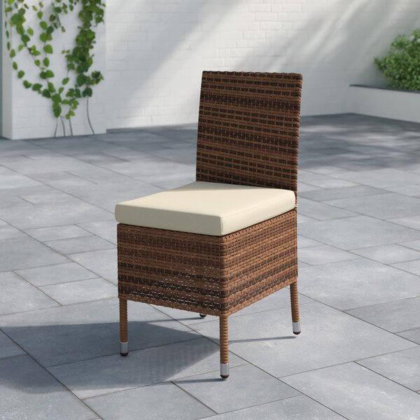 Brookhaven Patio Dining Chair with Cushion by Birch Lane™ Heritage