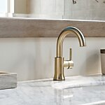 Trinsic® Single Hole Bathroom Faucet and Diamond™ Seal Technology by Delta