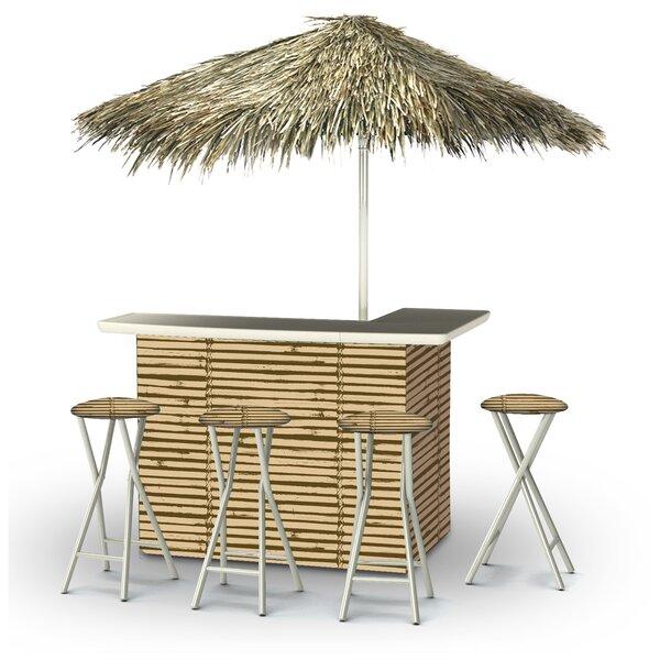 Waller Tiki Bar Set By Bayou Breeze