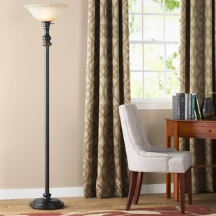 Read Reviews Markus 71 Torchiere Floor Lamp By Charlton Home