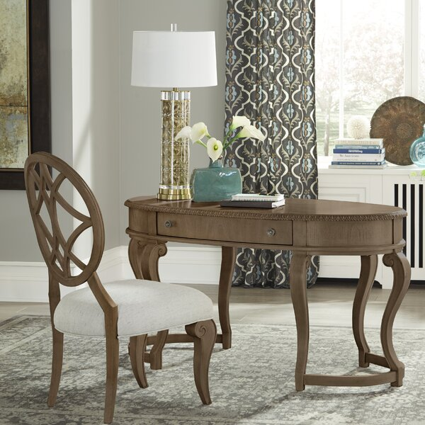 Oval Desk with Chair Set