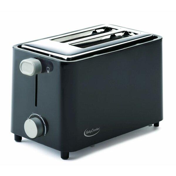 2 Slice Toaster by Betty Crocker