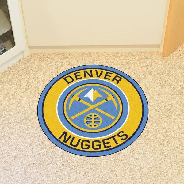 NBA Denver Nuggets Roundel Mat by FANMATS