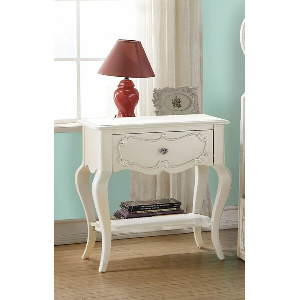 Eddins 1 Drawer Nightstand by Harriet Bee