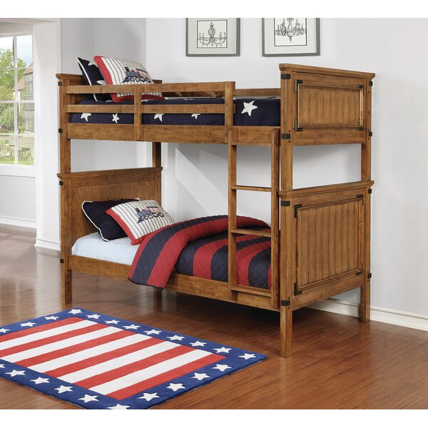 Shisler Twin Bunk Bed by Harriet Bee