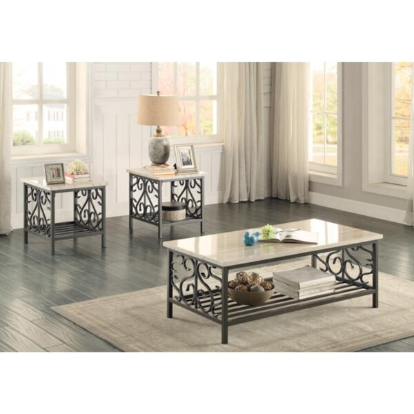 Odelina 3 Piece Coffee Table Set By Fleur De Lis Living