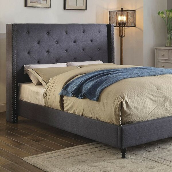 Ariana Upholstered Platform Bed by House of Hampton