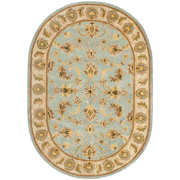 Cranmore Light Blue/Beige Area Rug by Charlton Home
