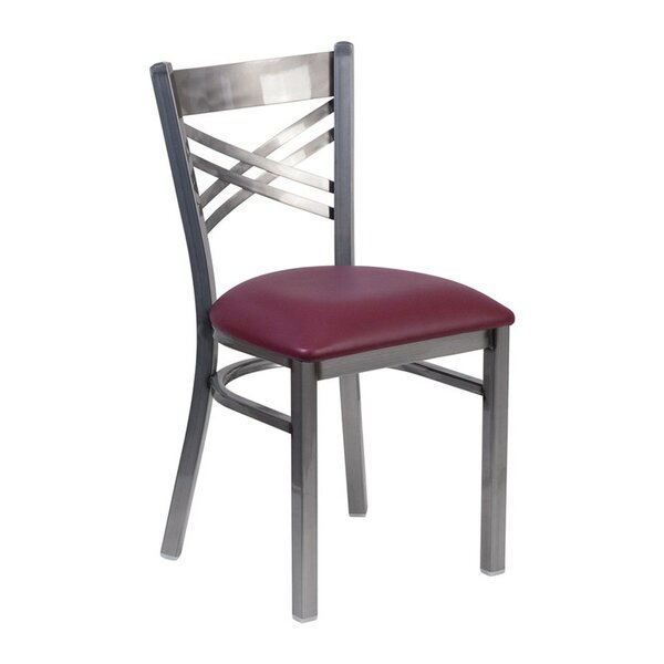 Anissa X Back Dining Chair by Winston Porter