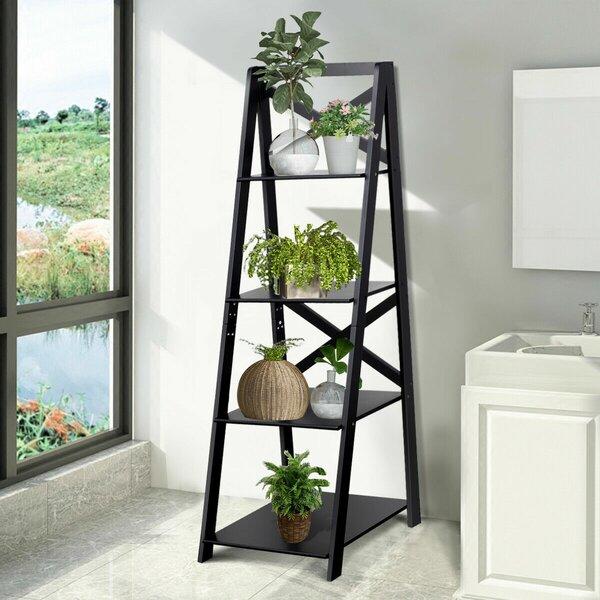 Lessard Shelf Storage Display Ladder Bookcase (Set Of 2) By Ebern Designs