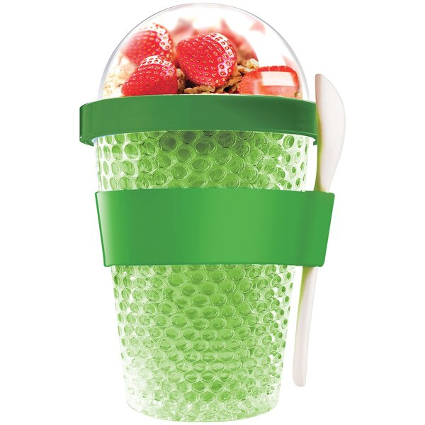 Leanna Chill Yo Plastic Travel Tumbler by Ebern Designs