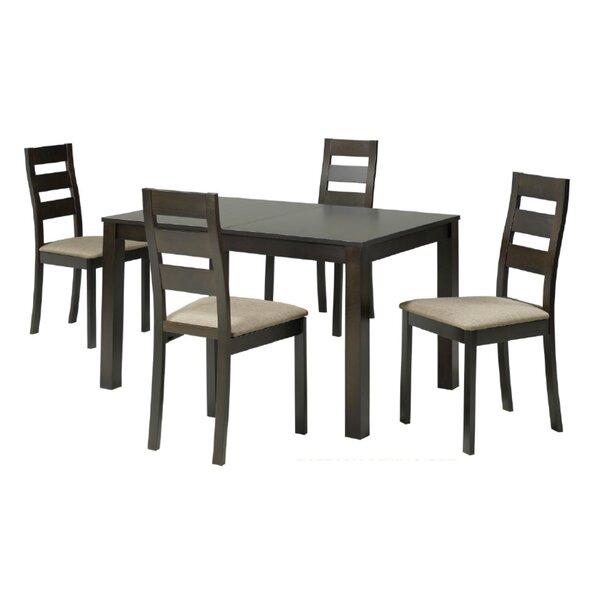 Archambault 5 Piece Extendable Dining Set by Alcott Hill Alcott Hill