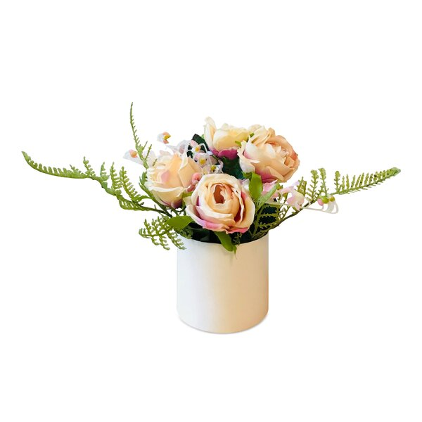 Modern Mixed Floral Arrangement by One Allium Way