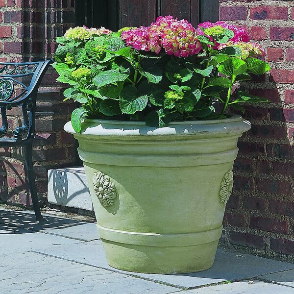 Cast Stone Pot Planter by Campania International