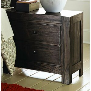 Farrin 2 Drawer Nightstand by Homelega..