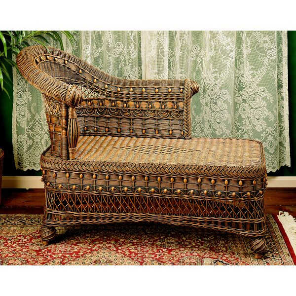 Classic Wicker Bench by Yesteryear Wicker
