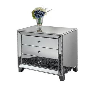 Mirrored Nightstands You ll Love