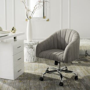com chair office mid zenith adjustable home height back with amazon stylish linen dp desk fabric executive