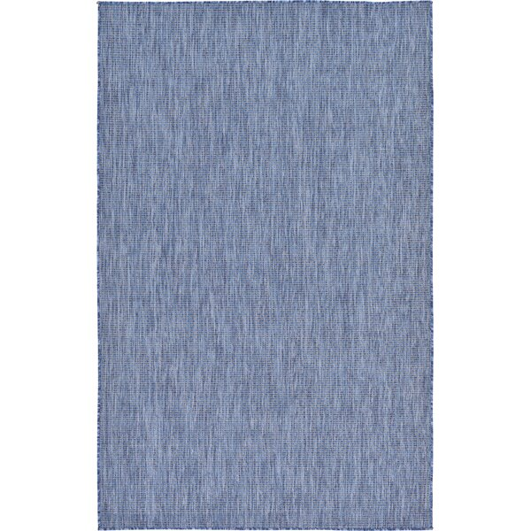 Janet Blue Indoor/Outdoor Area Rug by Laurel Foundry Modern Farmhouse