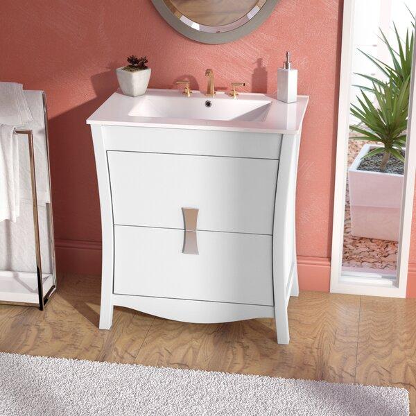 Cataldo Floor Mount 30 Single Bathroom Vanity Set by Royal Purple Bath Kitchen