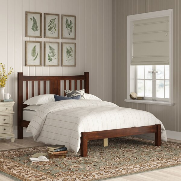 Shaker Platform Bed by Grain Wood Furniture