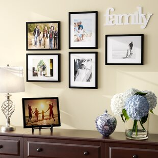 Wood Picture Frame Set Of 6
