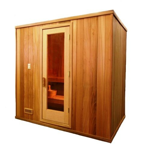 Modular 3 Person Traditional Steam Sauna by Baltic Leisure