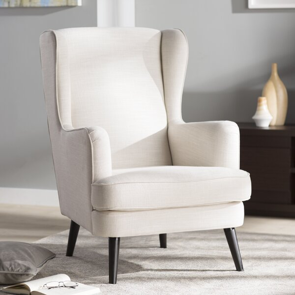 Jasper Wingback Chair by Corrigan Studio